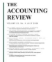 Discretionary Disclosure in Financial Reporting: An Examination Comparing Internal Firm Data to Externally Reported Segment Data