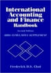 International Accounting and Finance Handbook, 2002 Cumulative Supplement
