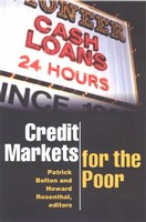 Credit Markets for the Poor