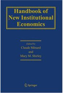 Handbook for New Institutional Economics